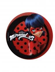 8 Pratos pequenos Ladybug™ cartão 19 cm