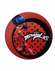 8 Pratos Ladybug™ cartão 23 cm