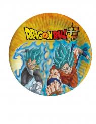 8 Pratos de cartão Dragon Ball Super™ 23 cm