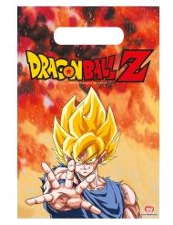 6 Sacos de festa Dragon Ball Z™ 23 x 16 cm
