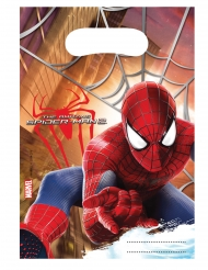 6 Sacos de festa The Amazing Spider-Man™ 17 x 23 cm