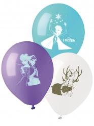 10 Balões de látex Frozen™ 28 cm