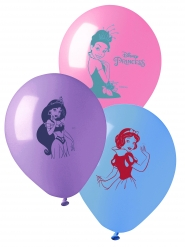 10 Balões látex Princesas Disney™ 28 cm