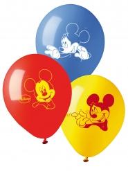 10 Balões de látex Mickey™ 28 cm