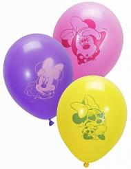 10 Balões de látex Minnie™ 28 cm