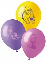 10 Balões látex Princesa Sofia™ 28 cm
