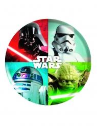 Prato de plástico Star Wars™ 21 cm
