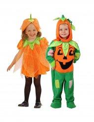 Disfarce de casal abóbora criança Halloween