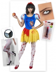 Pack disfarce princesa envenenada Halloween