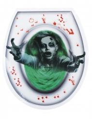 Adesivo para sanita fantasma mulher