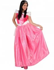 Disfarce princesa rosa mulher