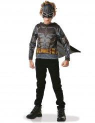 T-shirt com capa e máscara Batman™ criança