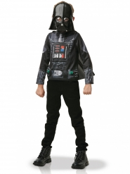 T-shirt com capa e máscara Darth Vader™ criança