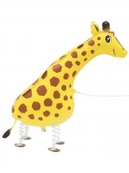 Balão metálico girafa caminhante 86,3 cm