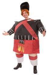 Disfarce insuflável escocês adulto
