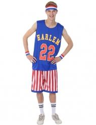 Disfarce jogador de basquete homem