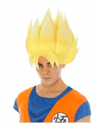 Peruca amarela Goku Saiyan Dragon Ball Z™ adulto