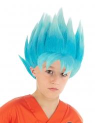 Peruca azul Goku Saiyan Super Dragon Ball Z™ criança