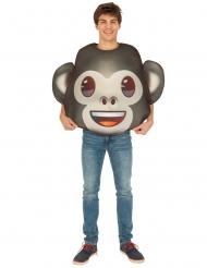 Disfarce Emoji macaco™ adulto