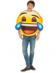 Disfarce Emoji chorando de rir™ adulto
