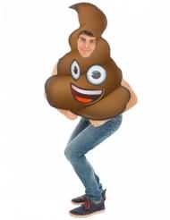 Disfarce Emoji Cocó™ adulto