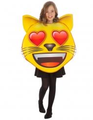 Disfarce Emoji gato coração™ criança