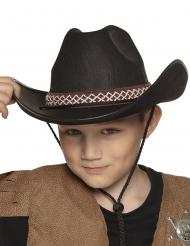 Chapéu cowboy preto criança