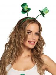 Bandolete mini chapéu trevos adulto