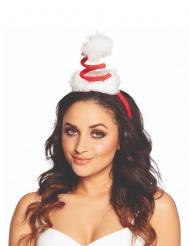Mini chapéu gorro em espiral adulto