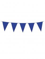 Grinalda com mini bandeirolas azul marinho 3 m
