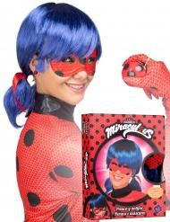 Coffret peruca e máscara Ladybug™ adulto