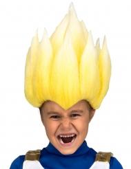 Peruca Super Saiyan Vegeta Dragon Ball Z™ criança