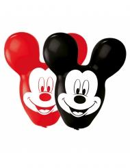 4 Balões látex Mickey Mouse™ orelhas grandes 55.8 cm
