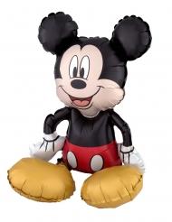 Balão alumínio Mickey Mouse™ sentado 45 x 45 cm