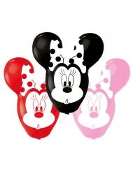 4 Balões de látex Minnie™ orelhas grandes 55.8 cm