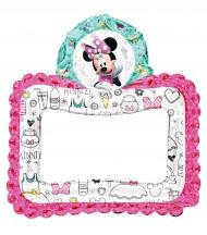 Balão alumínio moldura Minnie Mouse™