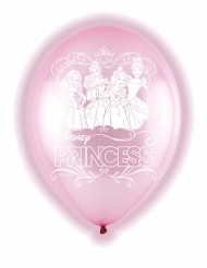 5 Balões de látex LED Princesas Disney™ 28 cm