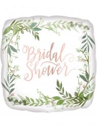 Balão de alumínio quadrado Bridal Shower 43 cm