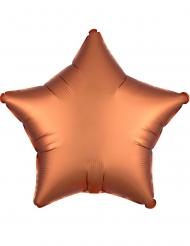 Balão alumínio estrela cobre 43 cm
