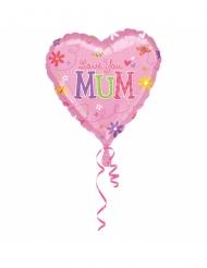 Balão alumínio Love You Mum