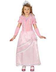 Disfarce Princesa rosa menina