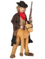 Disfarce de cowboy criança
