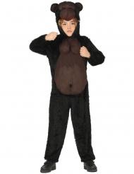 Disfarce macacão gorila criança