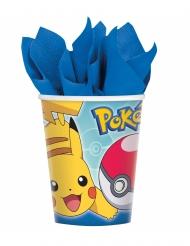 8 copos em cartão Pokémon Core™ 266 ml