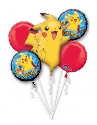 5 Balões de alumínio Pokemon™