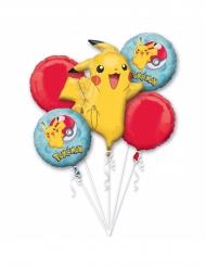5 Balões alumínio Pokemon™