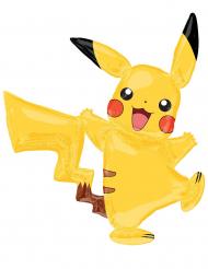 Balão alumínio Pikachu Pokémon™ 132 x 144 cm