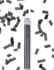 Canhão de confetis retangulares pretos