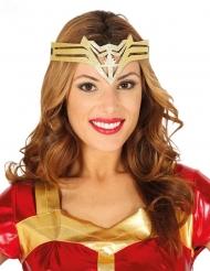 Bandolete super-heróina dourada mulher