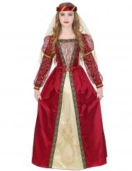 Disfarce princesa medieval real menina